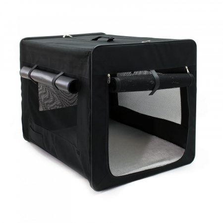 Kutyatáska összehajtható XL méretű összecsukható hordozó táska kutya, cica számára kényelmes