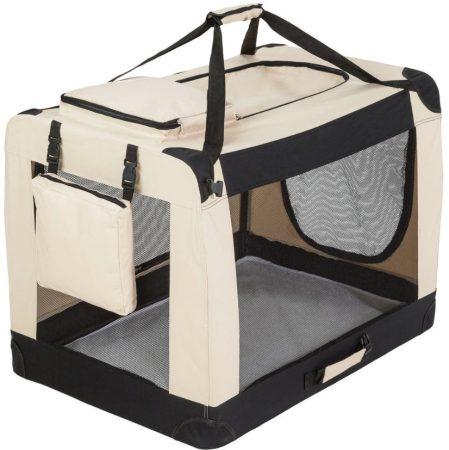 XXL méretű összecsukható hordozó kennel táska kutya, cica számára