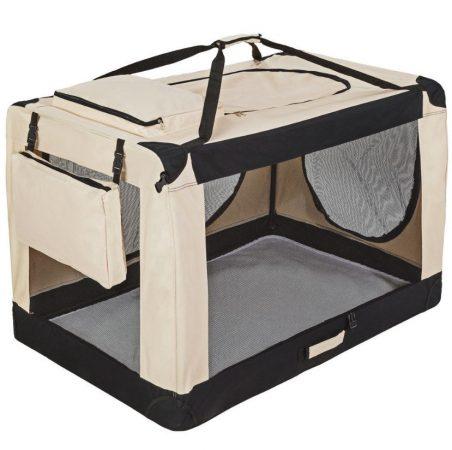 Kutyatáska összehajtható XXXXL méretű összecsukható hordozó táska kutya, cica számára kényelmes