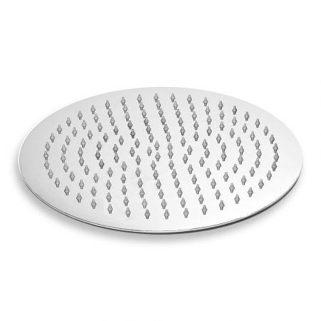 Zuhanyfej kerek 20 cm átmérőjű extra méreteben esőztető zuhanyzófej