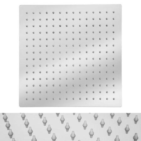 Zuhanyfej 30X30 cm extra méreteben esőztető zuhanyzófej
