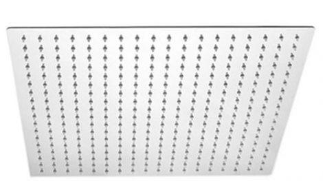 Zuhanyfej 40x40 cm extra méreteben esőztető zuhanyzófej