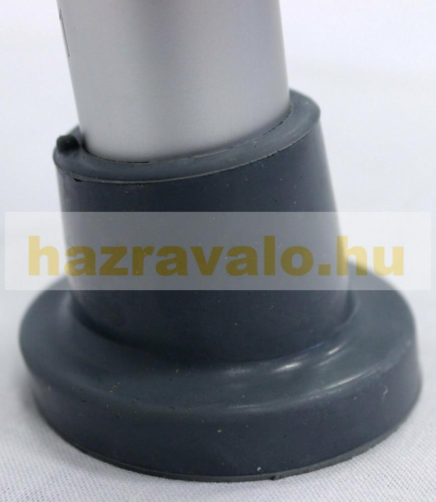 Zuhany állítható magasságú aluminium karfás szék szögletes z