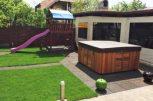 Gumiburkolatok a kertbe és a ház köré
